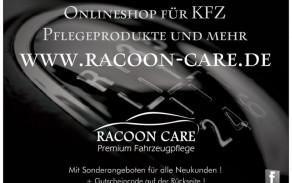 neue Flyer für Racoon Care